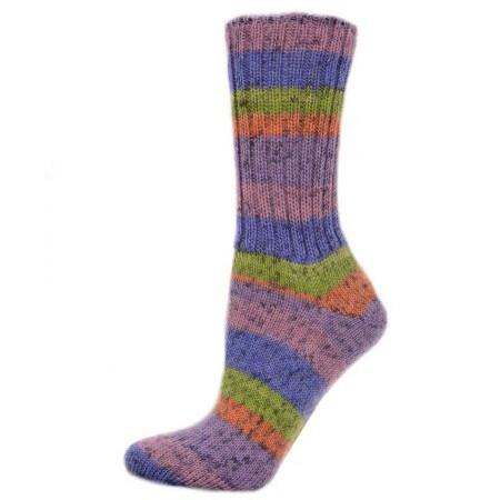 Custom Sock - Spot Violet