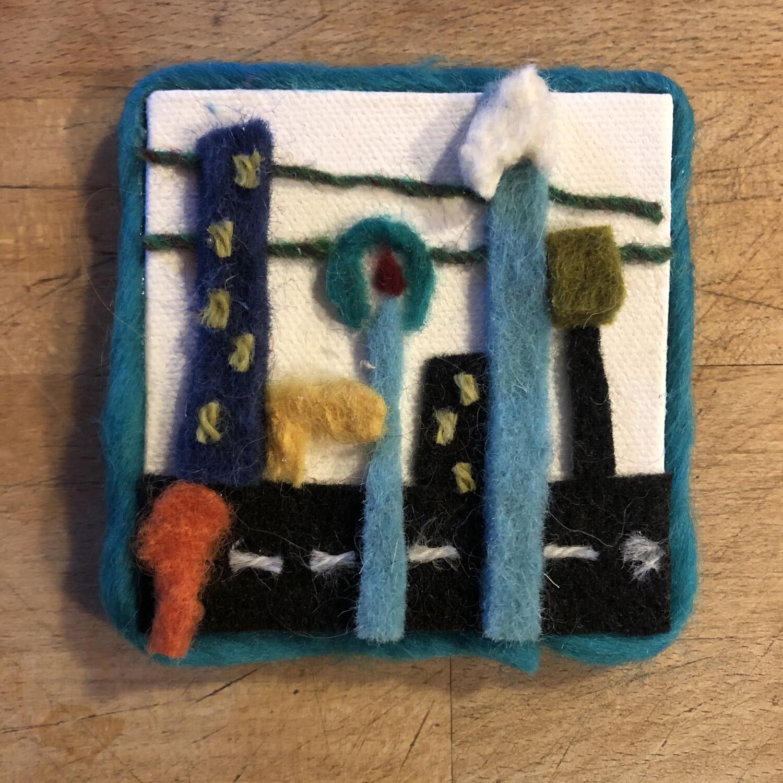 "Yarn Art - Streetscape 3x3"""