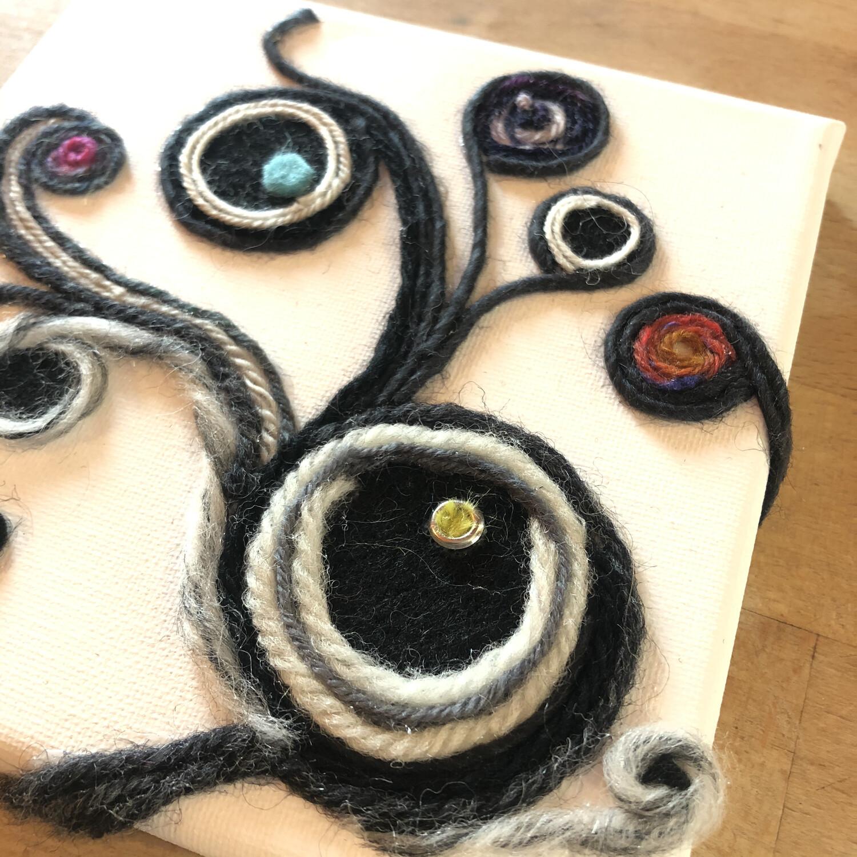 Yarn Art - Seeing Vine 6x6