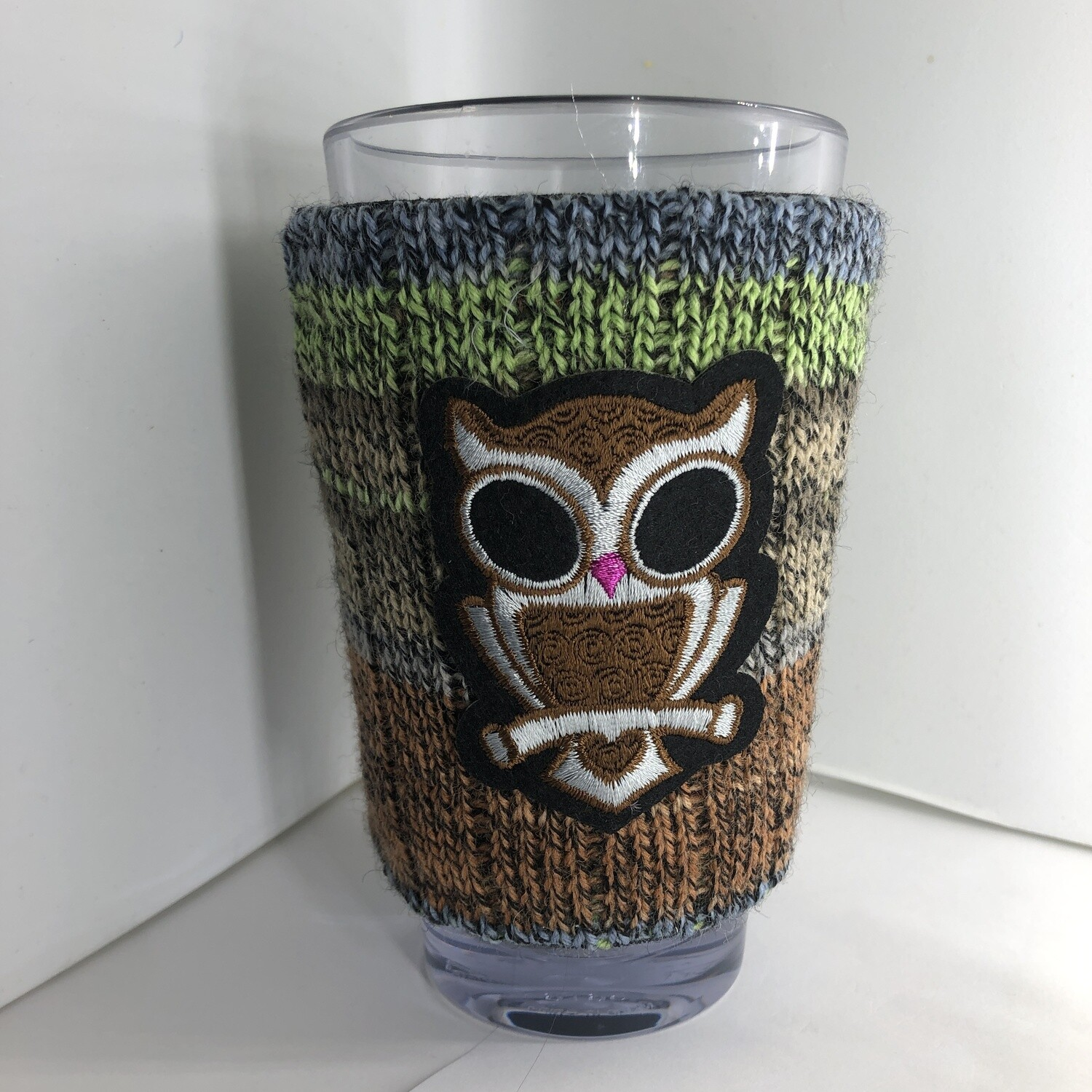Scary Owl Koozie - Cup Holder