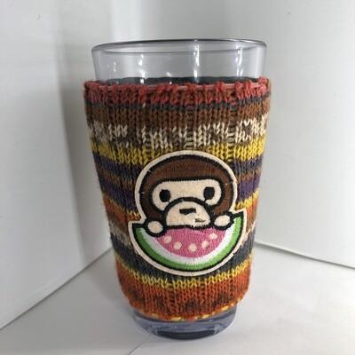 Yum Watermelon Koozie - Cup Holder - Monkey