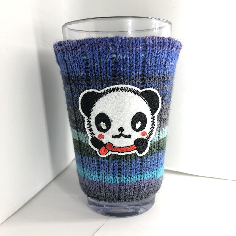 Cute Panda Koozie - Cup Holder