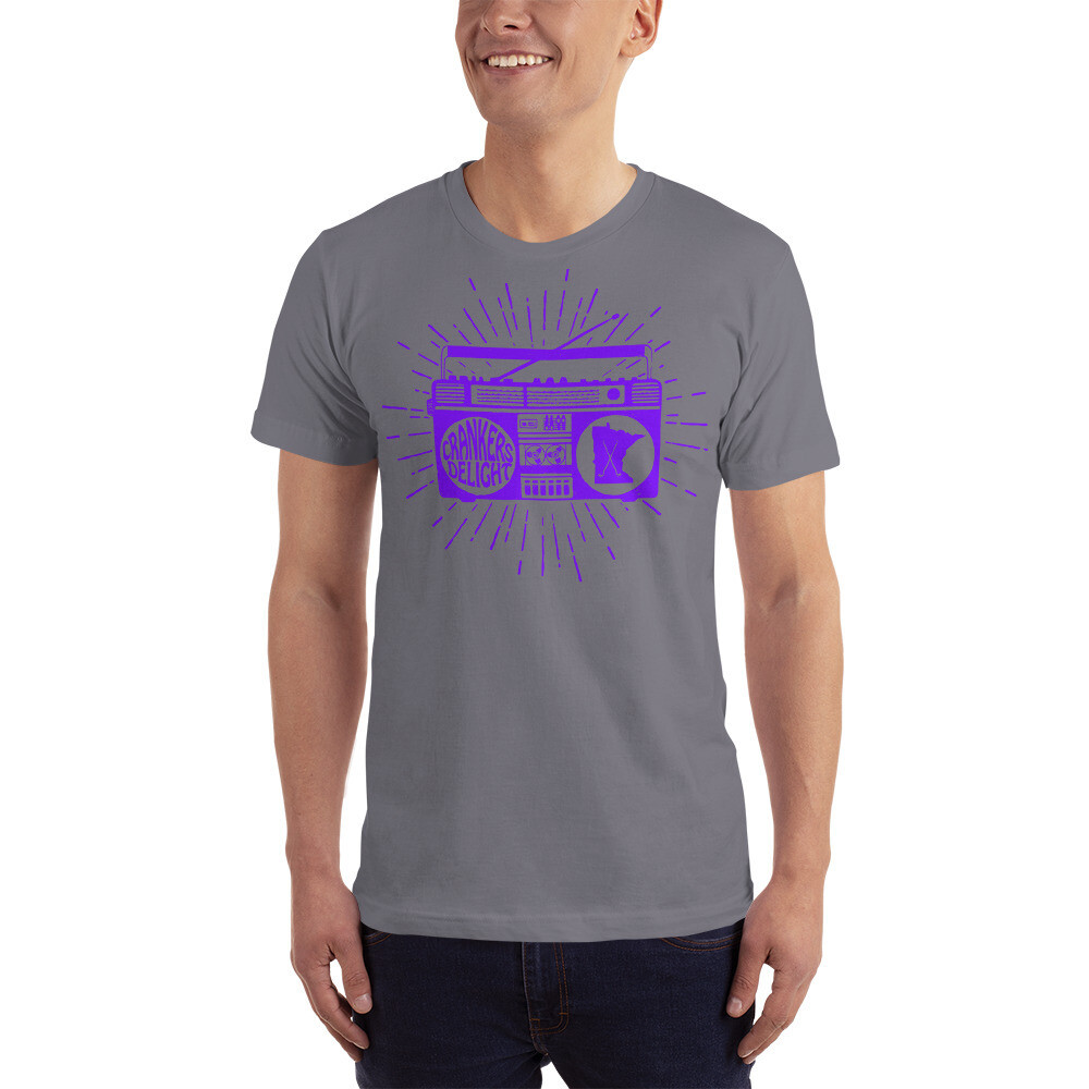 Cranker's Delight Purple | Unisex Jersey T-Shirt | American Apparel