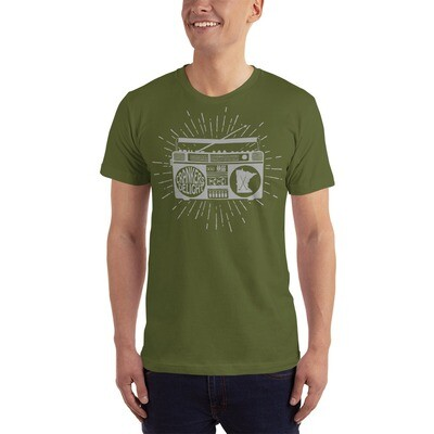 Cranker's Delight Silver   Unisex Jersey T-Shirt   American Apparel