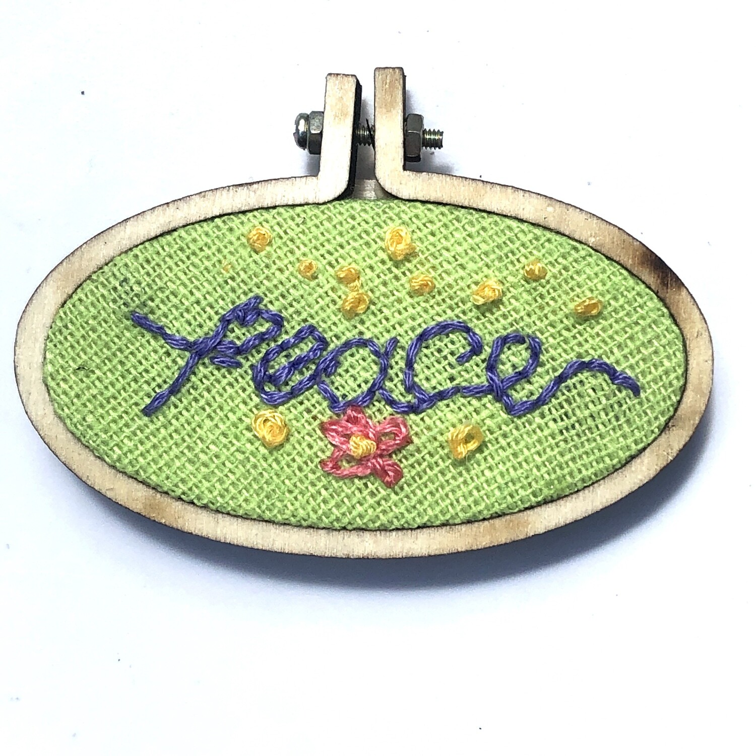 Field of Peace - Embroidered Magnet