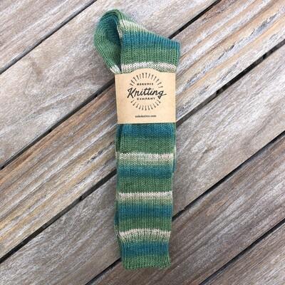 Women's Tall Socks Size 9 to 10 Torino Emerald Isle Green