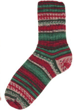 Christmas Sock Style 2