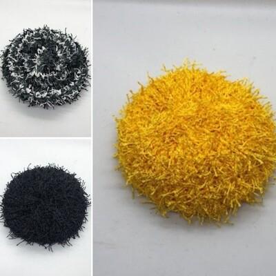 Black, Gray & Gold Scrubbies
