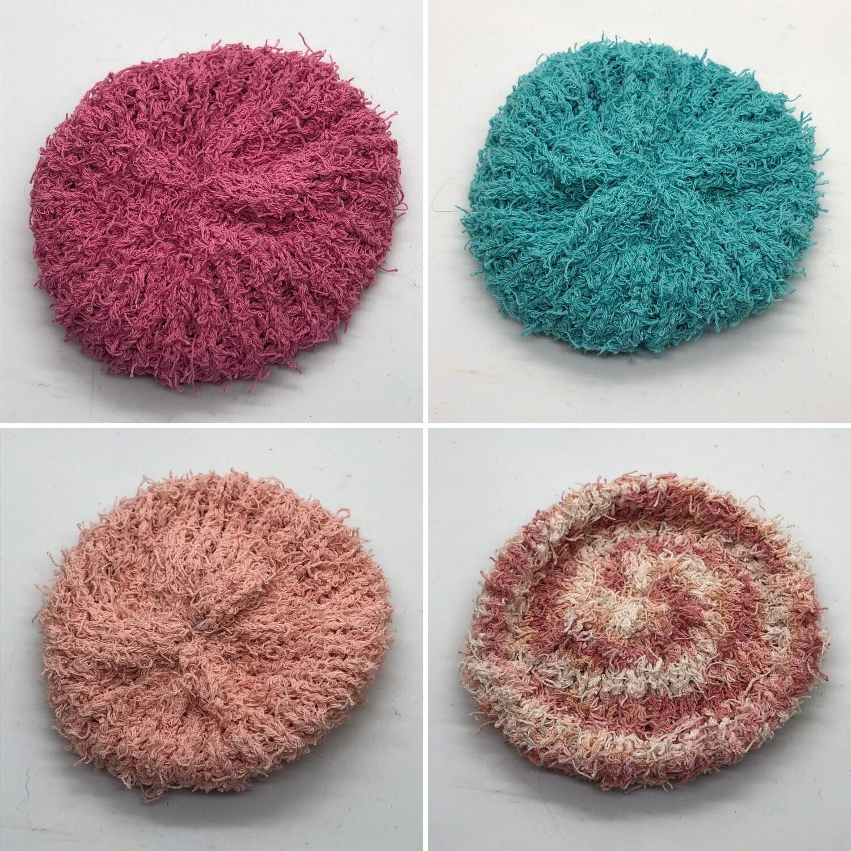 Soft Cotton Scrubbies