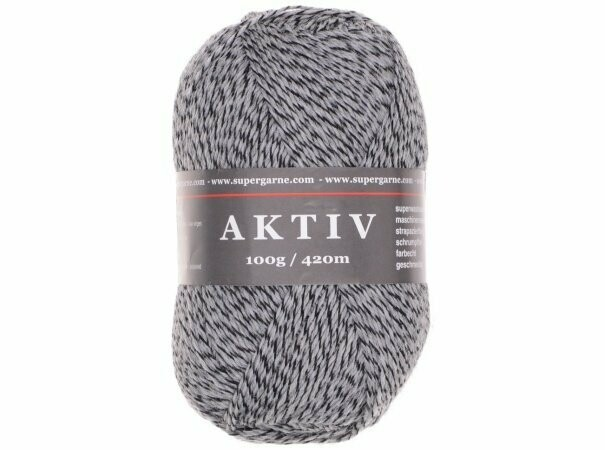Custom Sock - Grey Mouline