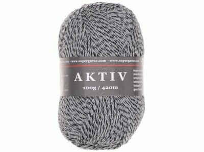 Custom Sock - Grey Mouline