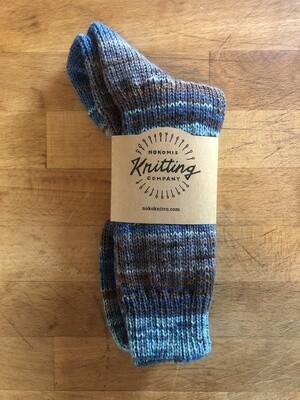 Women's Crew Socks Size 9-10 - Ireland Donegal