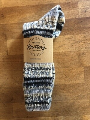 Women's Crew Sock Size 9 to 10 - Smile River