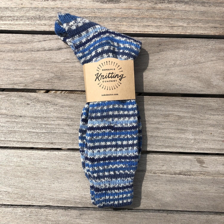 Men's Crew Sock Size 10 to 11 - Nautilus Blue
