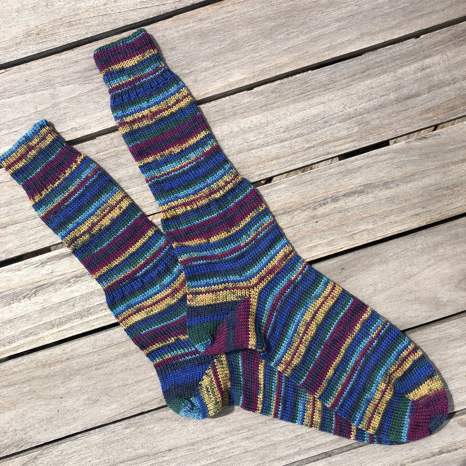Men's Crew Sock Size 10 to 11 - Mystery