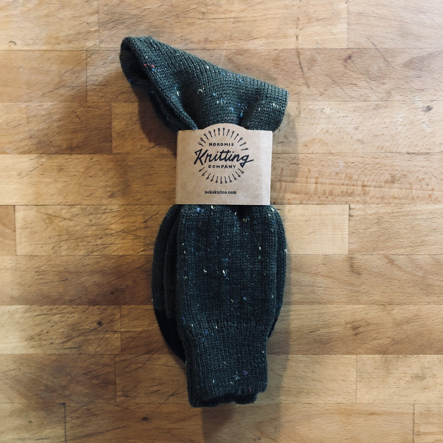 Men's 11 to 12 Hunter Green Tweed with Black Toes