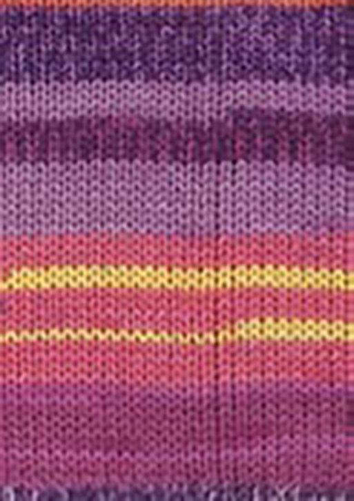 Custom Sock - Diamond Purple Sunset