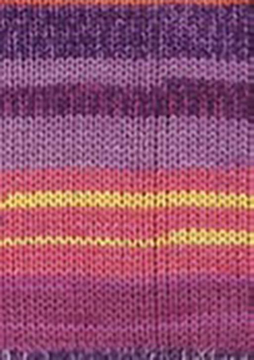Custom Sock - Diamond Purple Sunset