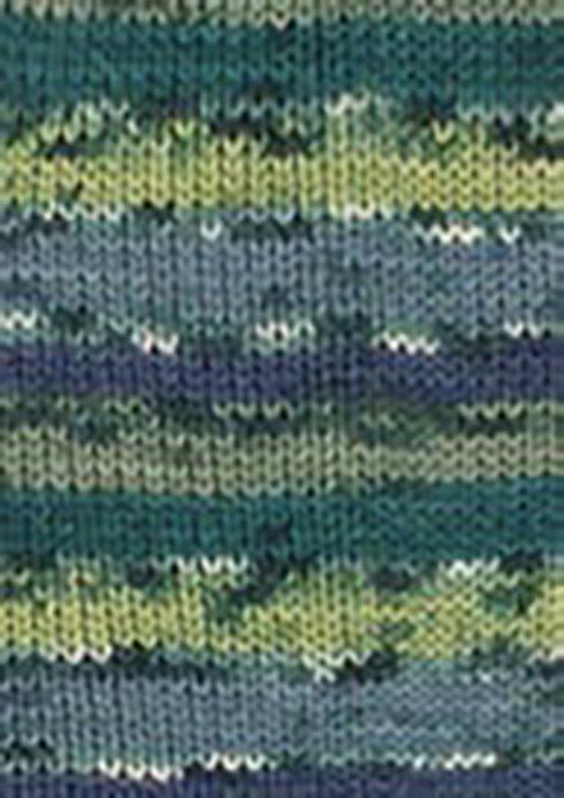 Custom Sock - Hot Socks Stripes - Greens