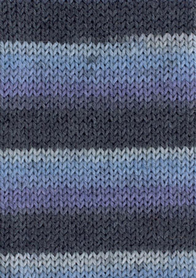Custom Sock - Torino Cool Blues Ombre