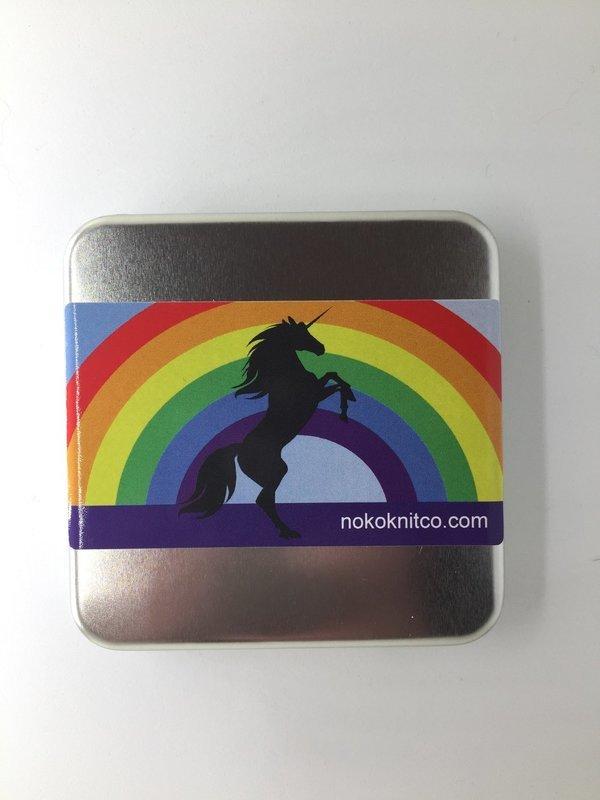Bestest Knitter's Toolkit - Rainbow Unicorn
