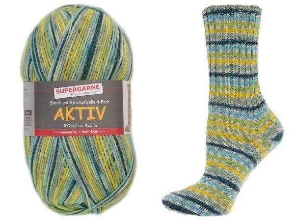 Custom Sock - Lime