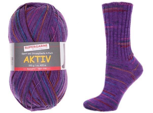 Custom Sock - Violet