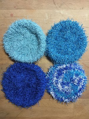 Blue Scrubbies