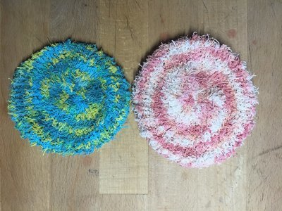 Soft Cotton Scrubbies