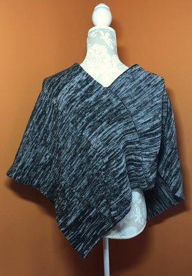 CSM Pattern: Two-Point Poncho Knitting Pattern