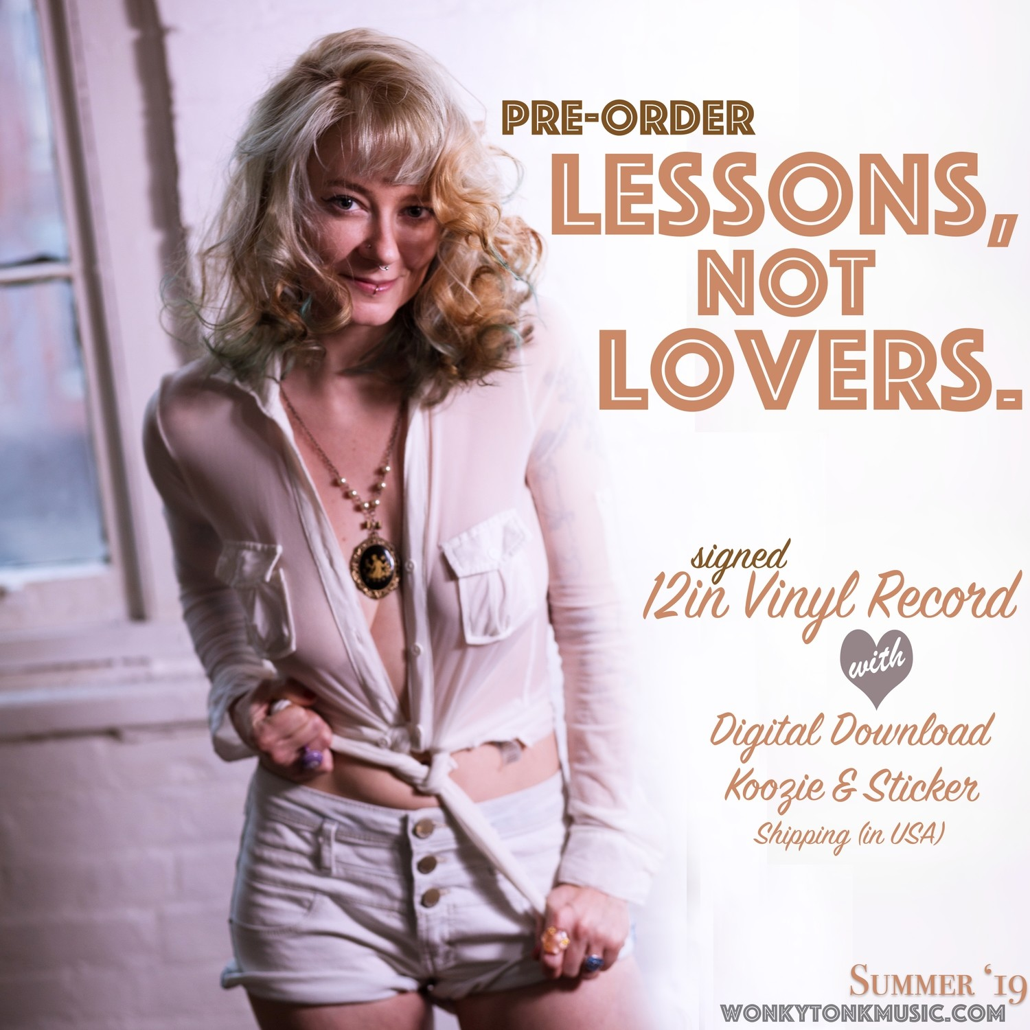 Lessons, not Lovers Pre-Order Package