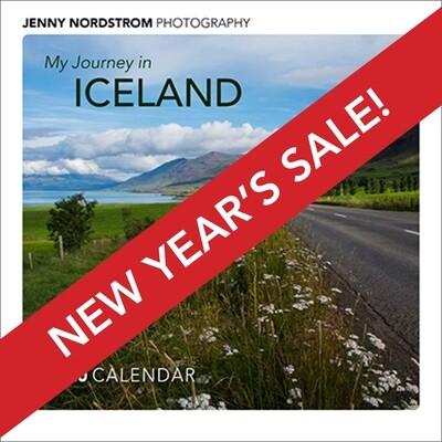 Iceland Calendar 2020