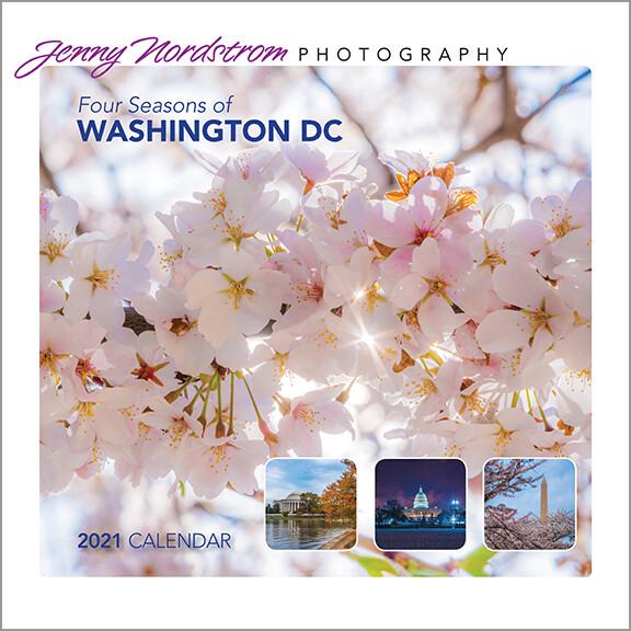 Four Seasons of DC Calendar 2021