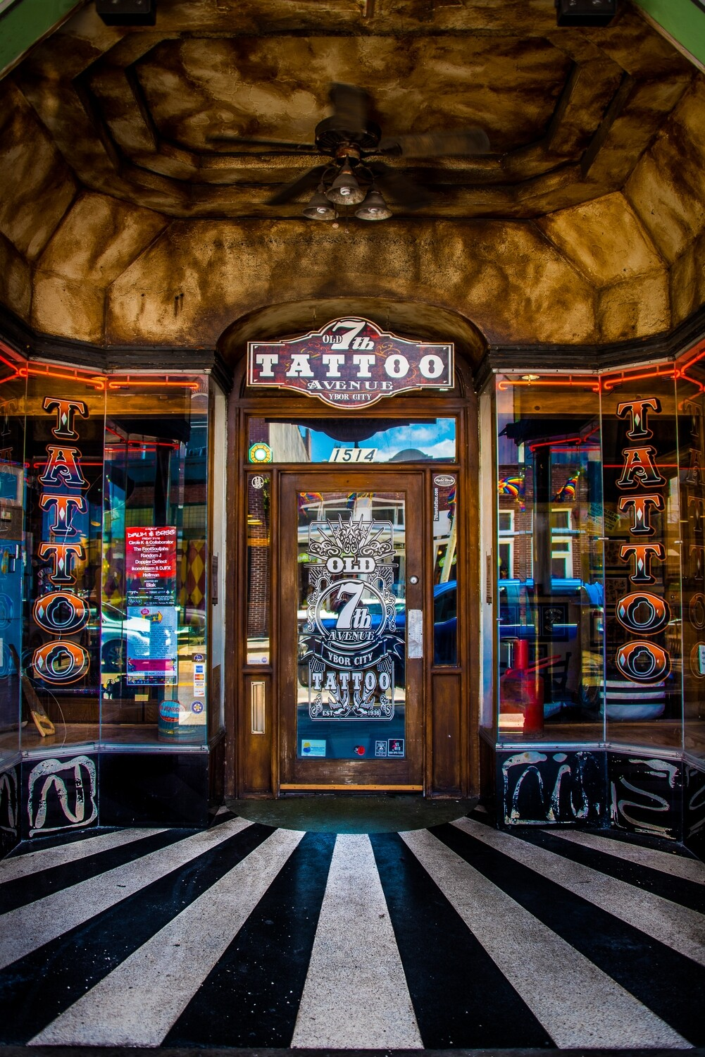 Tattoo Parlor—Ybor City, Tampa, Florida