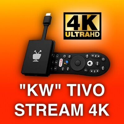 NEW!!! Tivo Stream 4K (EXCLUSIVE CUSTOMIZATION)