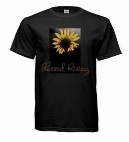 Blessed Rising Sunflower T-shirt