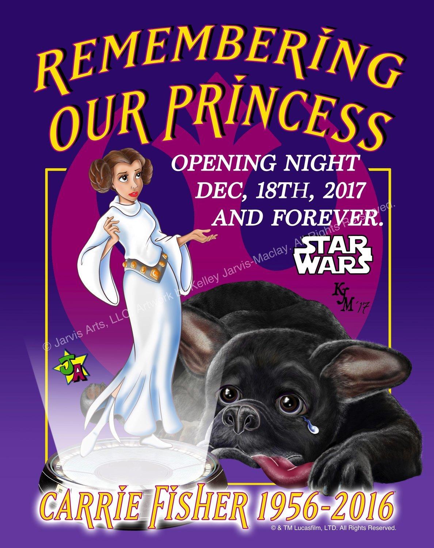 """Princess Remembrance"" Art Prints (Purple)"