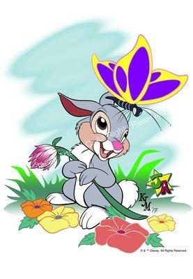 """Hello There"" Cartoon Rabbit Limited Edition Print"