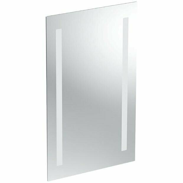 Miroir lumineux Geberit / Keramag Option 60 cm avec éclairage latéral
