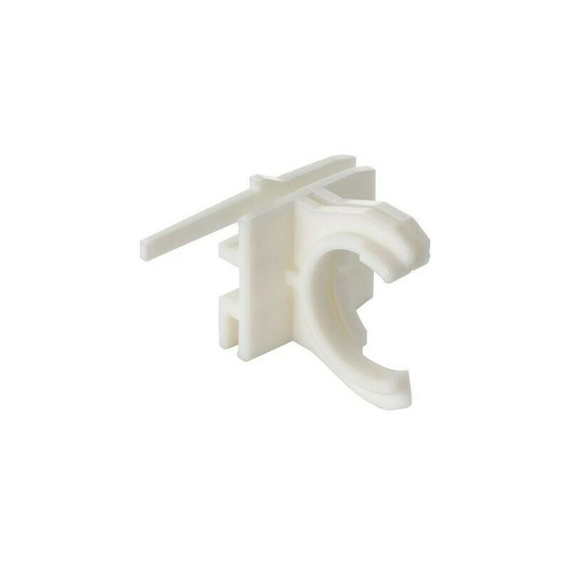 Clip de fixation pour robinet flotteur type 380 pour réservoir Geberit Sigma 8 cm