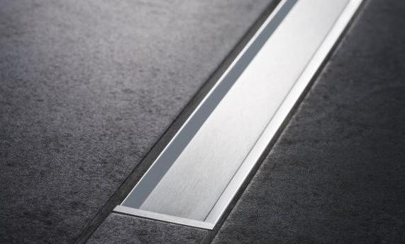 Set de finition Geberit CleanLine20 - Métal poli / Métal brossé - Longueur 30 - 130 cm