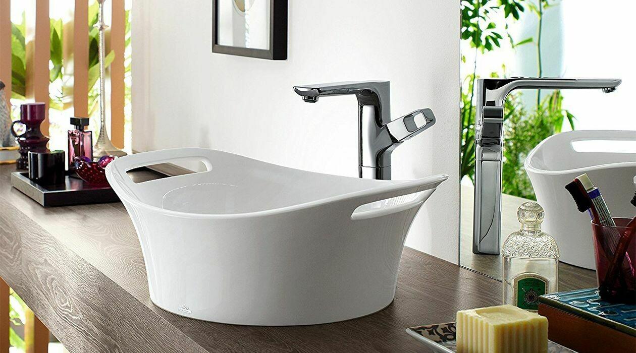 Mitigeur de lavabo AXOR Urquiola 130 avec garniture de vidage