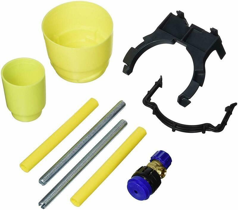 Accessoires de montage pour réservoir encastré Geberit  Combifix Alpha 8 cm et Sigma 8 cm
