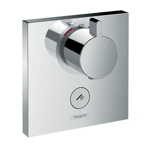 Set de finition pour mitigeur thermostatique encastré haut débit Hansgrohe ShowerSelect