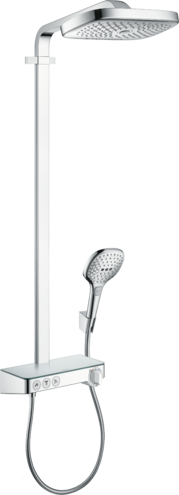 Colonne de douche Showerpipe Hansgrohe Raindance Select E 300 3 jets avec mitigeur thermostatique ShowerTablet Select 300