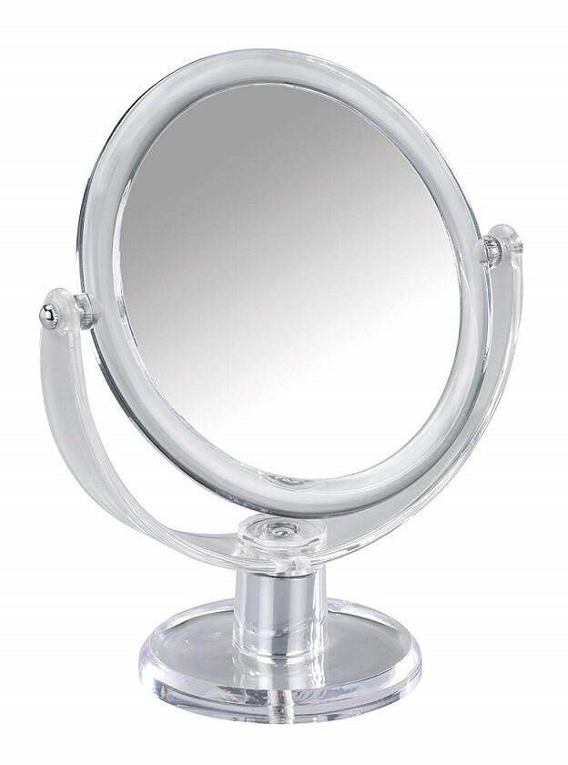 Miroir grandissant Oval à poser sur pied
