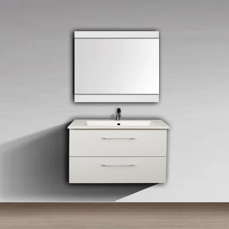 Meuble pour plan-vasque Comete 72 cm blanc