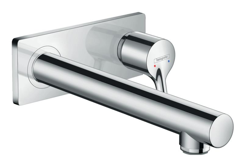 Mitigeur de lavabo encastré Hansgrohe Talis S 225 mm en laiton chromé