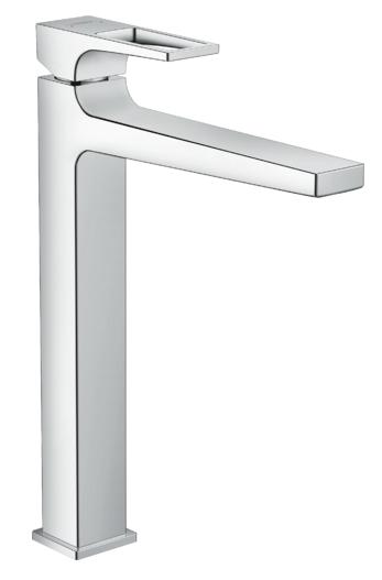 Mitigeur de lavabo Hansgrohe Metropol 260 avec poignée étrier et bonde Push-Open