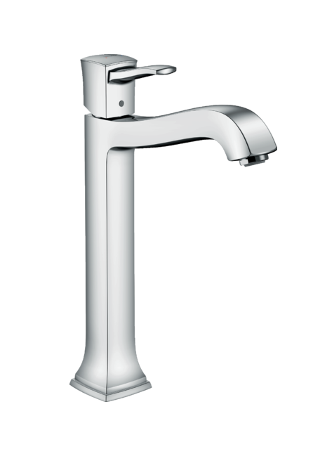 Mitigeur de lavabo Hansgrohe Metropol Classic 260 pour vasque libre avec tirette et vidage